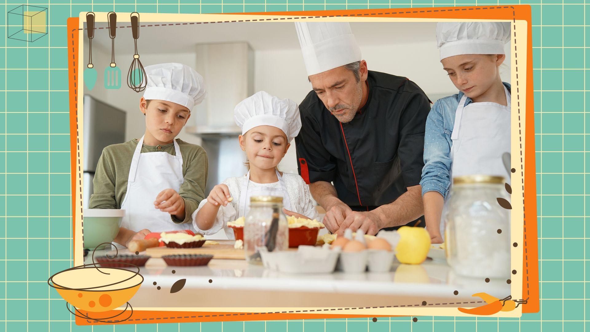 โรงเรียนสอนทำอาหารสำหรับเด็ก