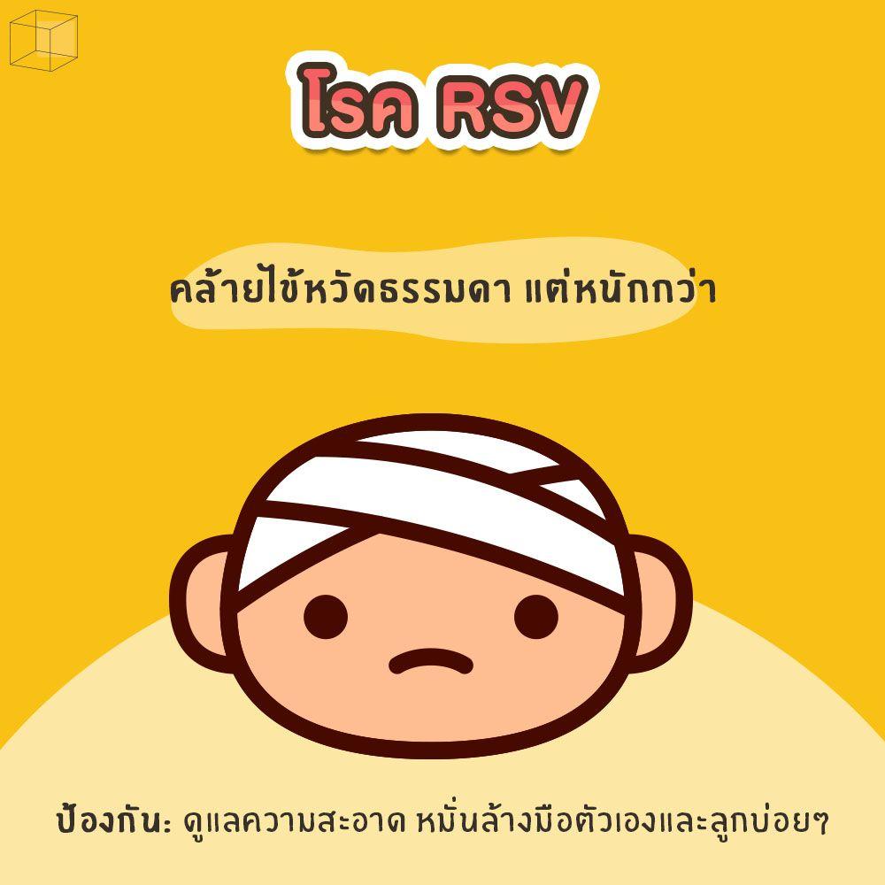 โรคหน้าฝนที่ต้องระวัง โรค RSV