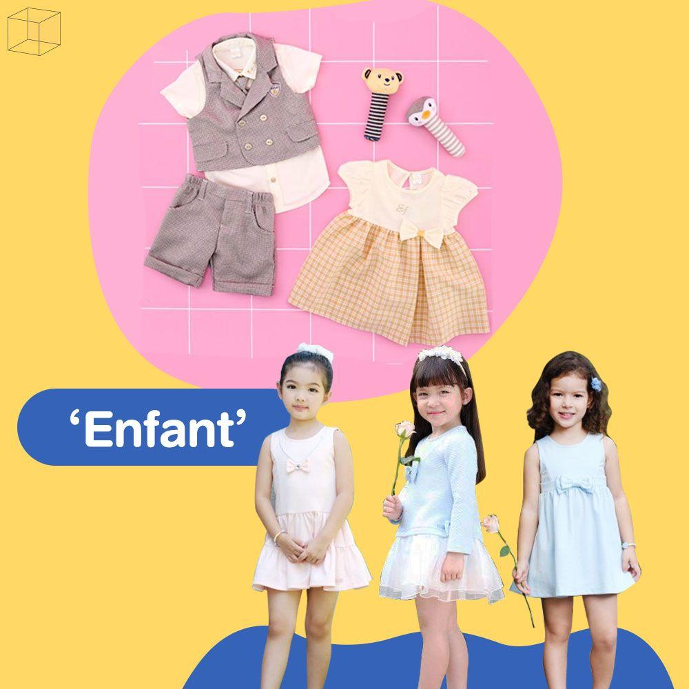 แบรนด์เสื้อผ้าเด็ก Enfant