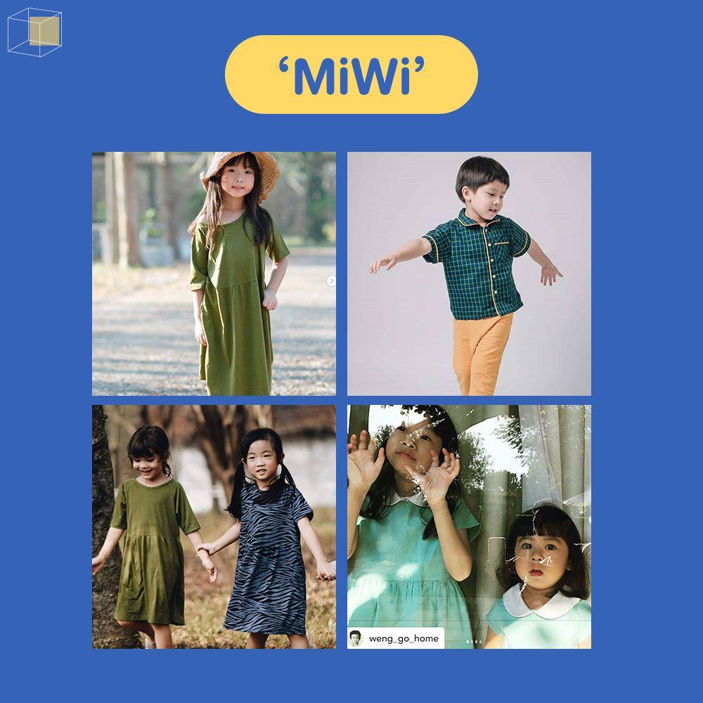 MiWi แบรนด์เสื้อผ้าเด็ก