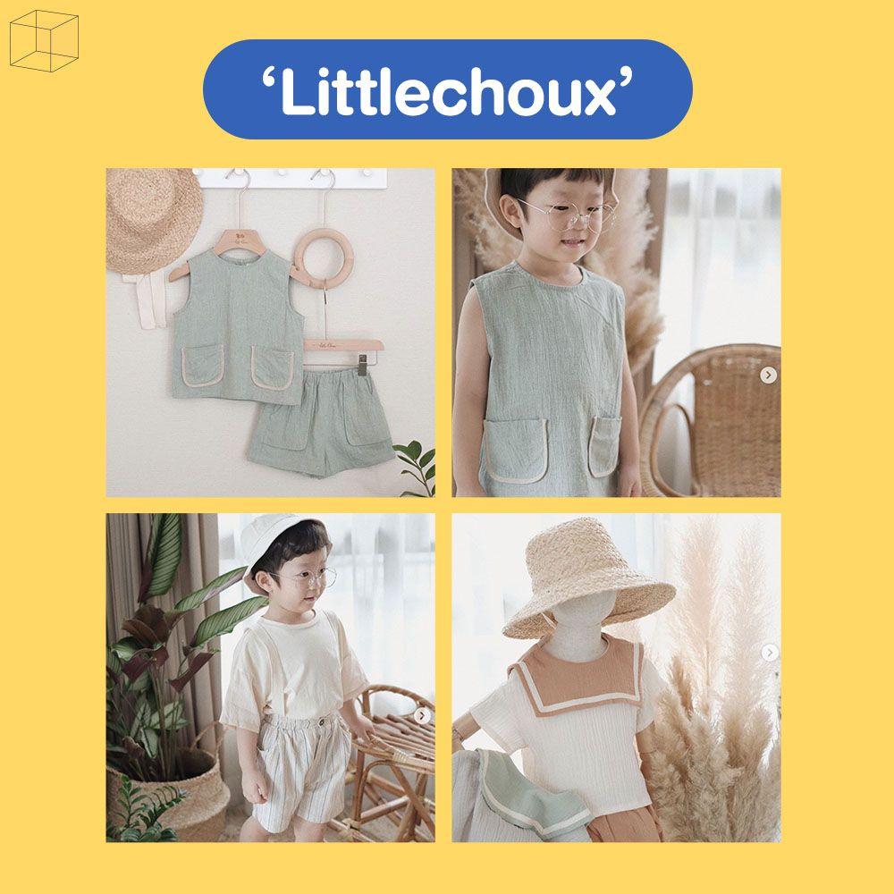 แบรนด์เสื้อผ้าเด็กสไตล์ minimal ใส่ได้ทุกวัน Littlechoux