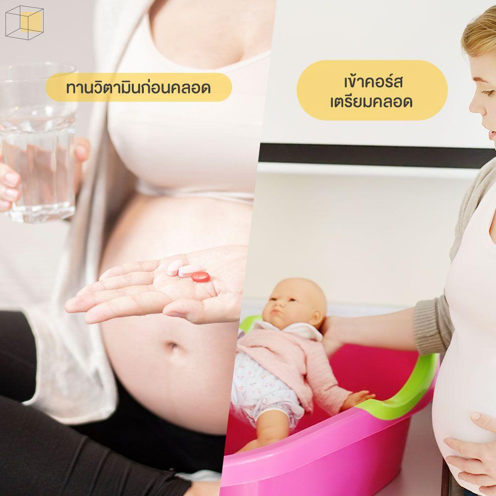 วิธีดูแลครรภ์
