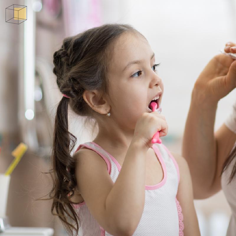 เด็กแปรงฟัน