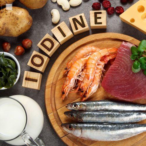 ไอโอดีน อาหารสร้างเซลล์สมองลูก